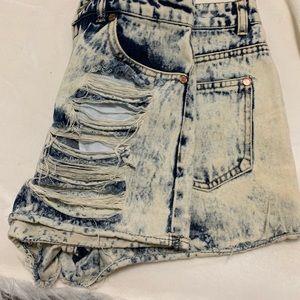 Vintage looking Jean Shorts